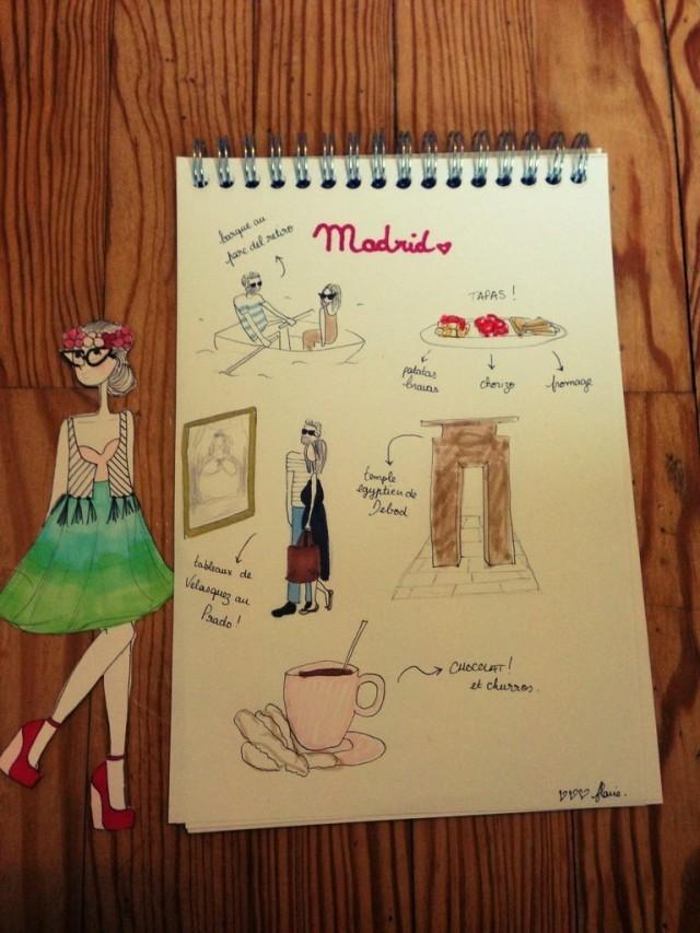 Madrid - carnet de voyage