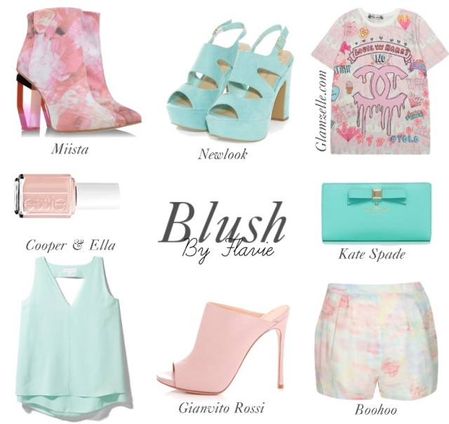 Selection blush