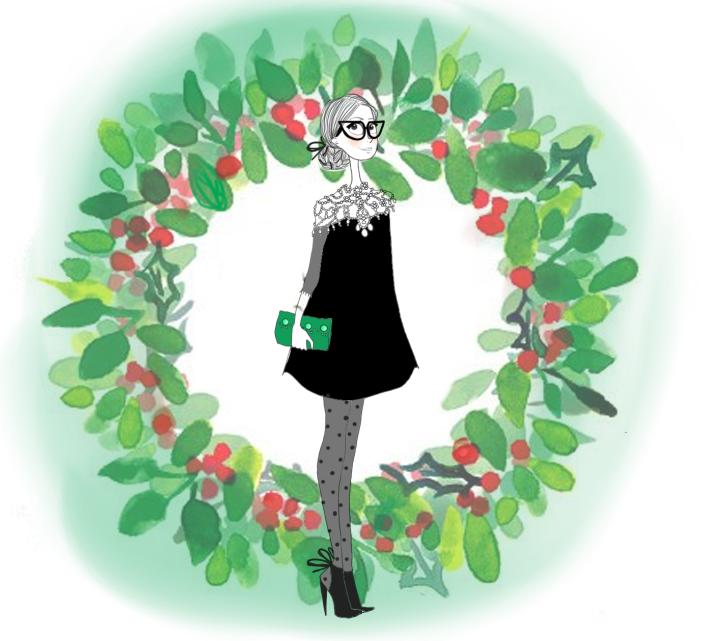 Flavie robe noire1